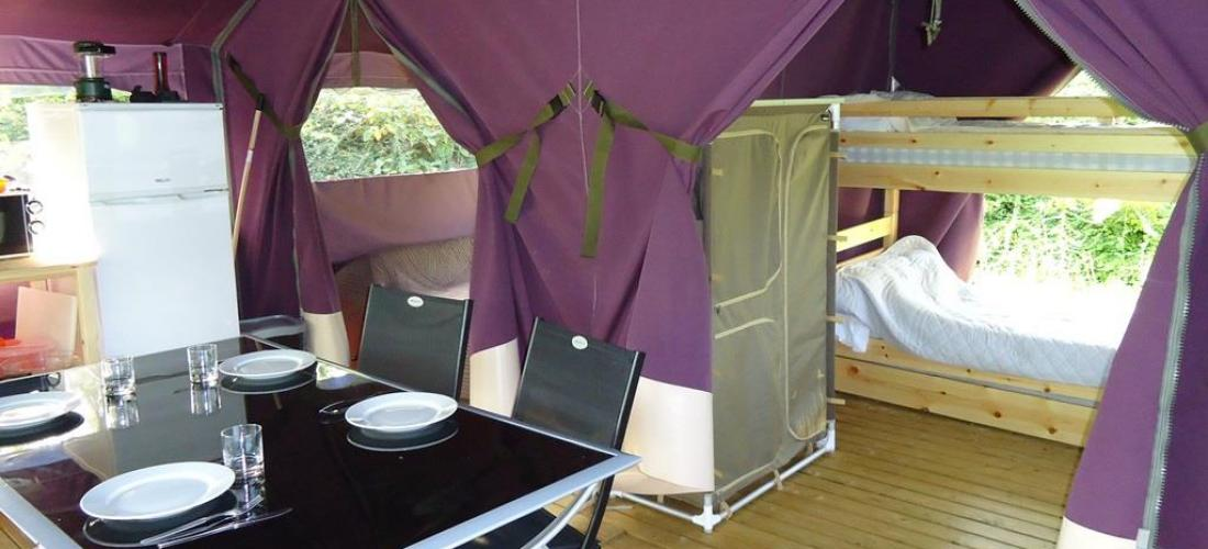 Eva comfortable canvas lodges